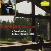 Herbert von Karajan (Герберт фон Караян): Brahms: The 4 Symphonies
