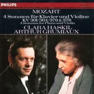 Clara Haskil (Клара Хаскил): Mozart: 4 Violin Sonatas for Piano and Violin, Nos