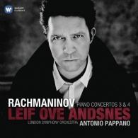 Leif Ove Andsnes (Лейф Ове Андснес): Piano Concertos Nos.3 & No.4