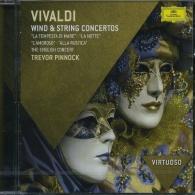 Trevor Pinnock (Тревор Пиннок): Vivaldi: Wind & String Concertos
