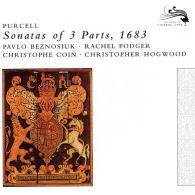 Christopher Hogwood (Кристофер Хогвуд): Purcell: 12 Sonatas Of Three Parts
