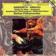 "Claudio Abbado (Клаудио Аббадо): Hindemith: ""Mathis Der Maler""; Nobilissima Visione"