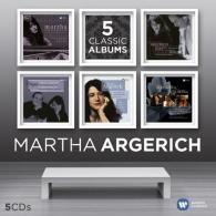 Martha Argerich (Марта Аргерих): 5 Classics Albums
