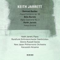 Keith Jarrett (Кит Джарретт): Keith Jarrett/Barber/Bartok: Piano Concertos