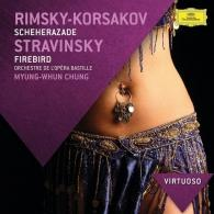 Myung-Whun Chung (Чон Мён Хун): Rimsky-Korsakov: Scheherazade/ Stravinsky: Firebird Suite