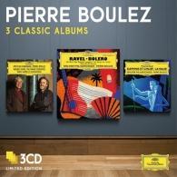 Pierre Boulez (Пьер Булез): 3 Classic Albums