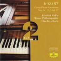 Freidrich Gulda (Фридрих Гульда): Mozart: Piano Concertos Nos.20, 21, 25 & 27