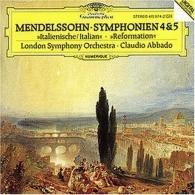 Claudio Abbado (Клаудио Аббадо): Mendelssohn: Symphonies Nos.4 & 5