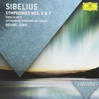 Neeme Järvi (Неэме Ярви): Sibelius: Symphonies 5 & 7; Karelia Suite