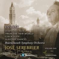 Jose Serebrier (ХосеСеребрьер): Symphony No.9 'From The New World', Czech Suite & 2 Slavonic Dances