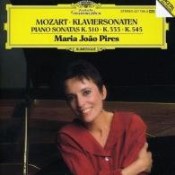Maria Joao Pires (Мария Жуан Пиреш): Mozart: Piano Sonatas K.310, K.333 & K.545