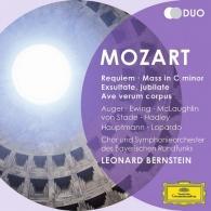 Leonard Bernstein (Леонард Бернстайн): Mozart: Requiem; Mass In C minor; Exultate