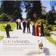 Kammerorchester Basel (Каммерорчестер Басел): Concerti Grossi Op. 3 Nr. 1-6