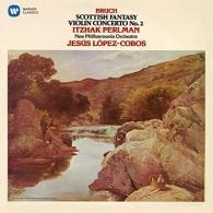 Itzhak Perlman (Ицхак Перлман): Scottish Fantasy, Violin Concerto No. 2 - Itzhak Perlman, Npo / Jesus Lopez Cobos