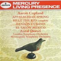 Antal Dorati (Антал Дорати): Copland: Appalachian Spring; Billy the Kid; El Salon Mexico; Danzon Cubano
