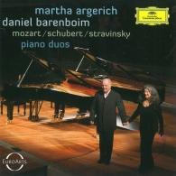 Martha Argerich (Марта Аргерих): Mozart, Schubert, Stravinsky Piano Duos