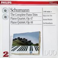 Beaux Arts Trio: Schumann: The Complete Piano Trios/ Piano Quartet Or 44 & 47