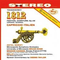 Antal Dorati (Антал Дорати): Tchaikovsky: 1812 Overture; Capriccio Italien