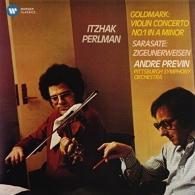 Itzhak Perlman (Ицхак Перлман): Violin  Concerto No.1 / Zigeunerweisen - Perlman, Previn/Pittsburgh