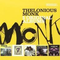 Thelonious Monk (Телониус Монк): 5 Original Albums: Concord