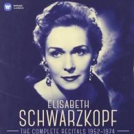Elisabeth Schwarzkopf (Элизабет Шварцкопф): Elisabeth Schwarzkopf - The Complete Recitals 1952-1974