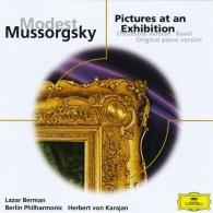 Lazar Berman (Берман Лазарь): Modest Mussorgsky: Pictures at an Exhibition