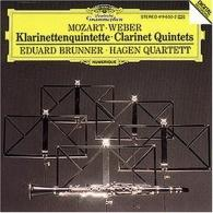 Hagen Quartett (Квартет Хаген): Mozart / Weber: Clarinet Quintets