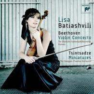 Lisa Batiashvili (Элизабет Батиашвили): Beethoven: Violin Concerto & Tsintsadze: Miniatures