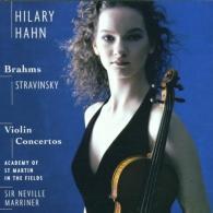 Hilary Hahn (Хилари Хан): Stravinsky & Brahms: Violin Concertos