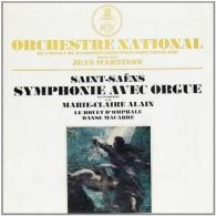 Jean Martinon (Жан Мартинон): Saint-Saens : Symphonie No. 3 Avec Orgue En Ut Min Op.78