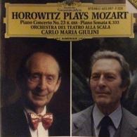 Vladimir Horowitz (Владимир Самойлович Горовиц): Mozart: Piano Concerto No.23 K.488; Piano Sonata K