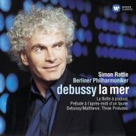 Simon Rattle (Саймон Рэттл): La Mer. Prelude A L'Apres-Midi D'Un Faune