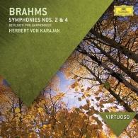 Herbert von Karajan (Герберт фон Караян): Brahms: Symphonies Nos.2 & 4