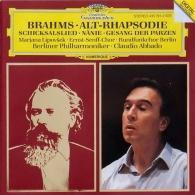 Claudio Abbado (Клаудио Аббадо): Brahms: Alto Rhapsody; Song Of Destiny; Nanie