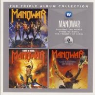 Manowar (Мановар): The Triple Album Collection: Fighting The World / Kings Of Metal / The Triumph Of Steel