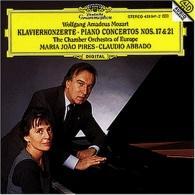 Maria Joao Pires (Мария Жуан Пиреш): Mozart: Piano Concertos Nos.17 & 21