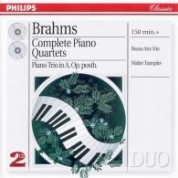 Beaux Arts Trio: Brahms: Complete Piano Quartets