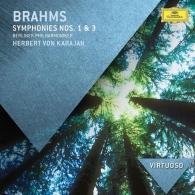 Herbert von Karajan (Герберт фон Караян): Brahms: Symphonies Nos.1 & 3