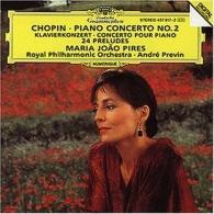 Maria Joao Pires (Мария Жуан Пиреш): Chopin: Piano Conc.2 / Preludes
