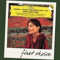 Maria Joao Pires (Мария Жуан Пиреш): Chopin: Piano Concertos Nos.1 & 2
