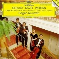 Hagen Quartett (Квартет Хаген): Debussy / Ravel / Webern: String Quartets