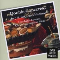 Gustav Leonhardt (Густав Леонхардт): Double Concertos By Js Bach & His Sons