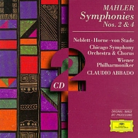 Claudio Abbado (Клаудио Аббадо): Mahler: Symph.2,4