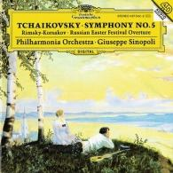 Giuseppe Sinopoli (Джузеппе Синополи): Tchaikovsky: Symphony No. 5/ Rimsky-Korsakov: Russian Easter Festival Overture