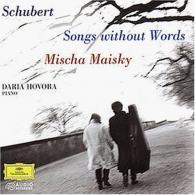 Mischa Maisky (Миша Майский): Schubert: Songs without Words