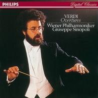 Giuseppe Sinopoli (Джузеппе Синополи): Verdi: Overtures - Aida/Attila/La Forza del destin