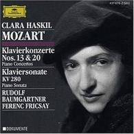 Clara Haskil (Клара Хаскил): Mozart: Piano Concertos Nos.13 & 20; Piano Sonata