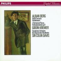 Berg: Violin Concerto/Three Orchestral Pieces