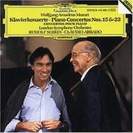 Mozart, W.A.: Piano Concertos Nos.15 & 22