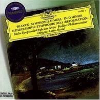 Franck: Symphony in D minor / Mendelssohn: Symphon